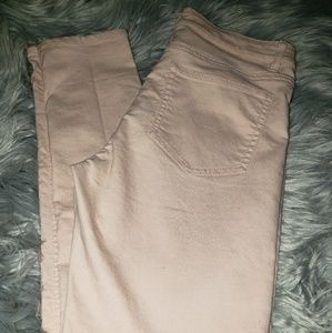 Blush colored Jean's size 36